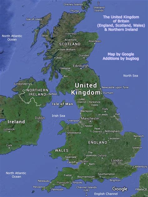 map of united kingdom united kingdom map uk with tourist destinations and