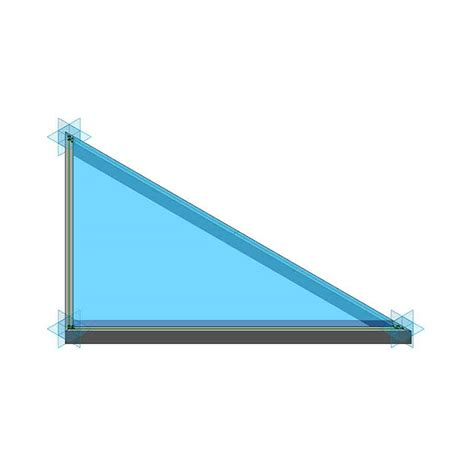 revit curtain panel triangular revit curtain panel with joints rv boost
