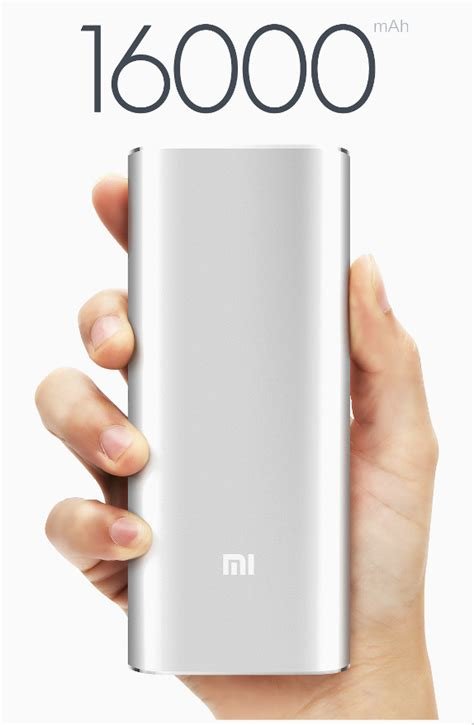Power Bank Mi 16000mah Xiaomi Introduces 16000mah Mi Power Bank Goes On Sale In China On Nov 11