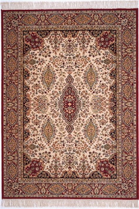 Area Rugs Closeout Couristan Kashimar 7205 1885 Kerman Ivory Closeout Area Rug