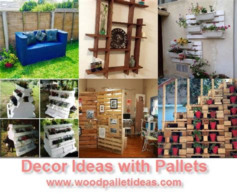 Decorating Ideas Using Pallets Creative Decor Ideas With Wooden Pallets Wood Pallet Ideas