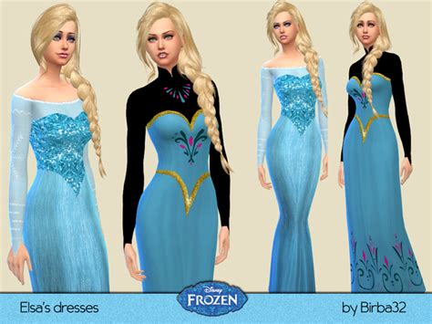 dresses sims 4 download the sims resource frozen elsa s dresses by birba32