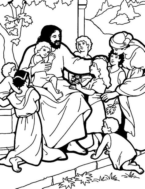 coloring page of jesus teaching free coloring pages of jesus teaches us to pray 2016