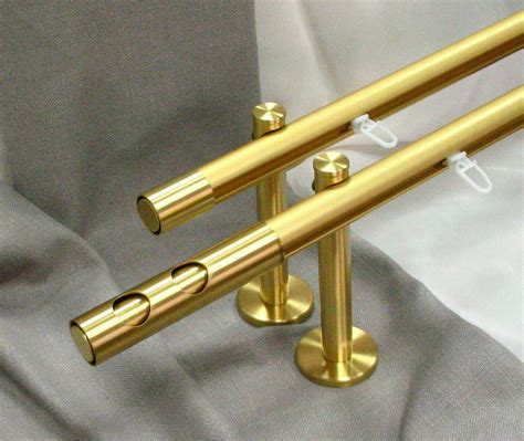curtain rods accessories aluminum curtain rods with brass accessories канеди