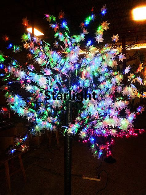 christmas tree without lights 5ft led maple tree light outdoor wedding tree rgb without change color ebay