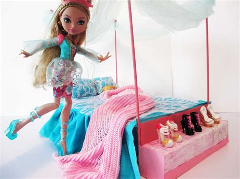 ever after high beds how to make a ashlynn ella bed tutorial ever after high