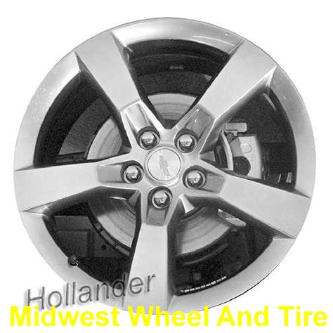 2010 camaro bolt pattern chevrolet 5447h oem wheel 92230890 oem original alloy
