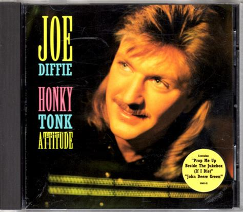 Joe Aint Nothing Like Me Album Tracklist by Joe Diffie Honky Tonk Attitude Cd Album At Discogs