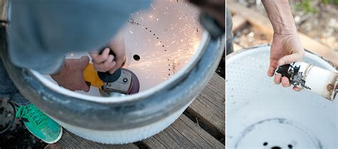 diy pit from washer drum how to turn a washing machine drum into a pit