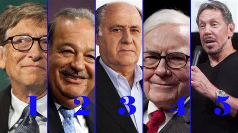 os mais ricos do mundo 2016 os 5 homens mais ricos do mundo youtube