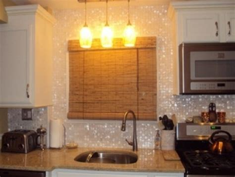 of pearl backsplash for the home