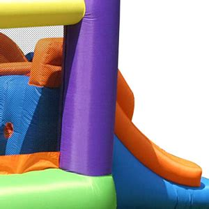 Murah Obstacle Course Bouncer Happy Hop 9063 obstacle course bouncer