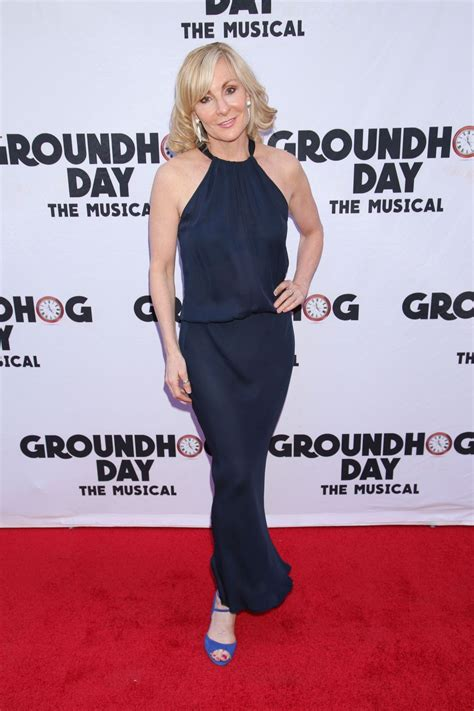 groundhog day opening judy mclane at groundhog day broadway opening in new