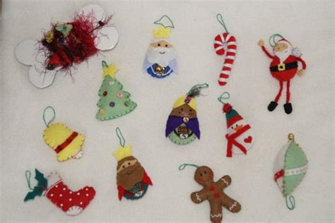 moldes de adornos fieltro para arbol moldes de navidad facilisimo com