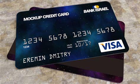 Credit Card Mockup Free Psd On Behance Credit Card Mockup Template