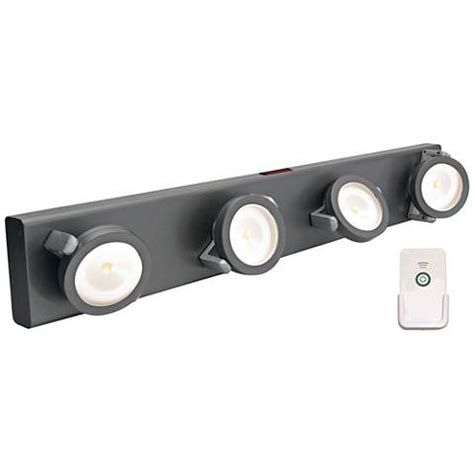 battery powered led light bar led battery powered gray light bar with remote 2f971