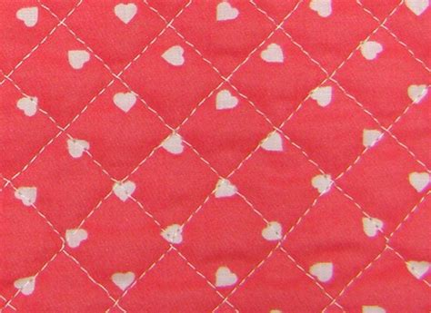 Quilted Fabric Uk by Hearts Back Ready Quilted Fabric Cotton Pre Quilted
