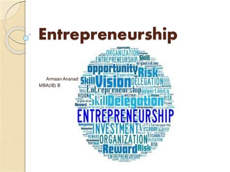 Mba In Entrepreneurship In India by Entrepreneurship In India And Challenges