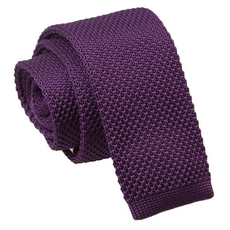 purple knit tie s knitted cadbury purple tie