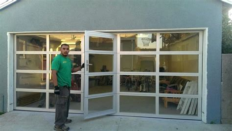 All Glass Garage Door Venidami Us Cost Of Glass Garage Doors