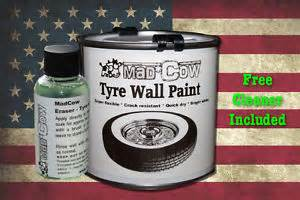 Car Tyre Paint Uk Tyre Wall Paint Kit White Mad Cow Whitewall Rod Rat