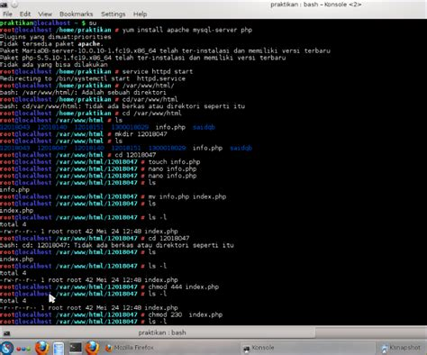 linux tutorial website teknik informatika tutorial web server pada linux