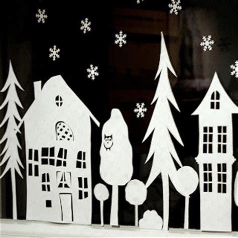 Fensterdeko Weihnachten Papier by Ein Schweizer Garten Das Adventsfenster