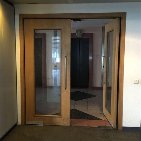 door swing swing door with glass by de coene rotor deconstruction