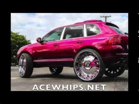 Porsche Cayenne Pink by Acewhips Net Lil Meech S Pink Porsche Cayenne On 32