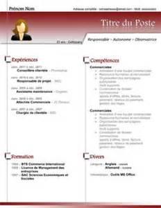 some resume sles 1000 ideas about cv gratuit on exemple de cv