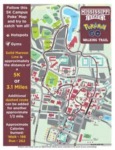 Mississippi State Campus Map by Safety Paramount For Pok 233 Mon Go Players On Campus