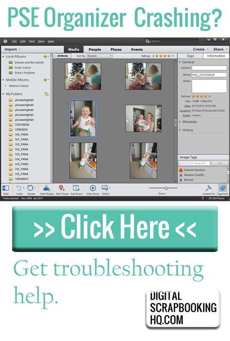 adobe photoshop organizer tutorial photoshop elements organizer not working i can help