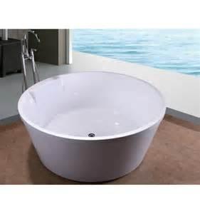 baignoire 238 lot ronde stelida 145 145 cm baignoire design