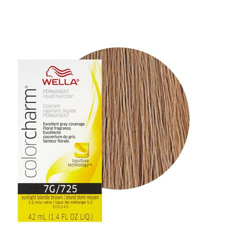 wella hair color reviews wella color charm liquid creme hair color 725 sunlight
