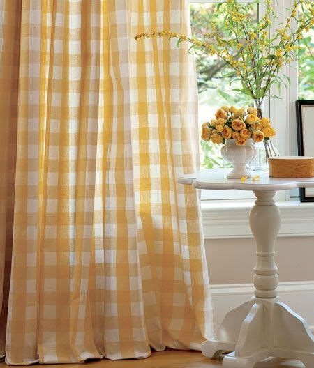 Yellow And White Checkered Curtains 73 Best Images About Yellow Gingham On Pinterest Aqua Rooms Door Curtains And Chairs