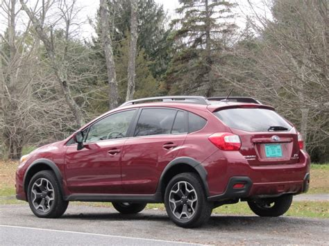 red subaru crosstrek 2013 subaru crosstrek first drive