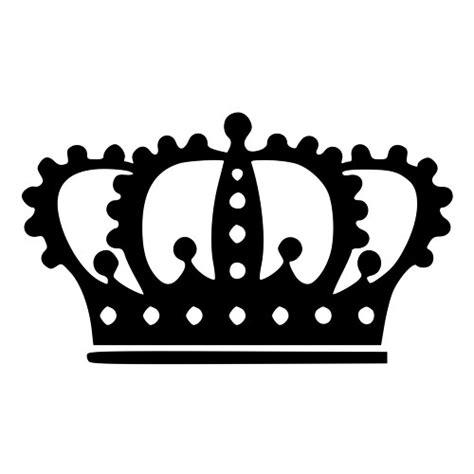 king crown design in hair cut queens crown die cut decal car window wall bumper phone