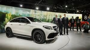 mercedes gle63 amg s coupe is the newest suv