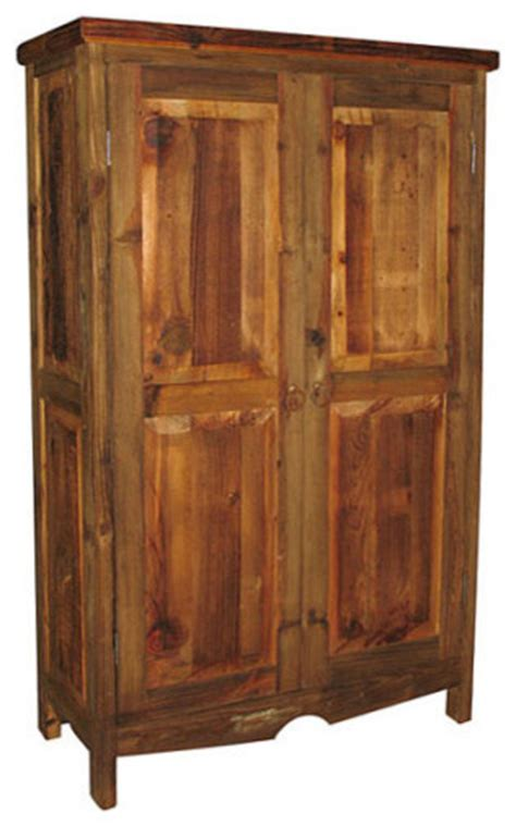 wood pantry cabinet rustic entertainment centers