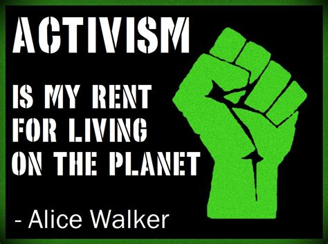 My Renter by Activism Is My Rent For Living On The Planet Vegan