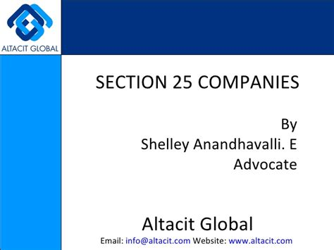 section 17 registration act section 25 companies
