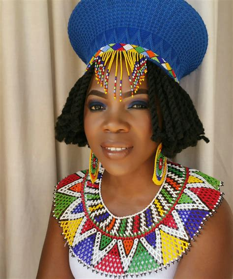 guest post flattering hats for every head already zulu traditional wedding attire hat earrings and necklace