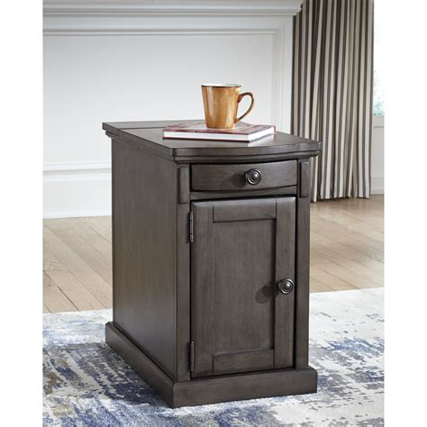 chair side table with power outlet chair side end table with power outlets pull out shelf