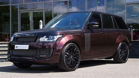 Maroon Kahn Design Range Rover Looks