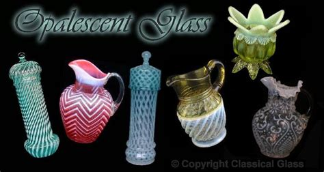 the opalescent books opalescent glass price guide book