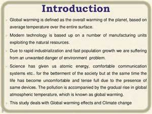 Global Warming Essay Introduction essays on global warming and climate change