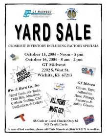 yard sale flyer template word church yard sale flyer gt midwest garage sale church