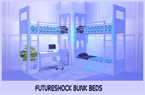 sims 4 bunk beds my sims 4 blog ts3 futurshock bunk beds conversion by