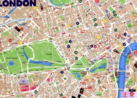 Printable Street Map Of London City Centre | april 2015 free printable maps
