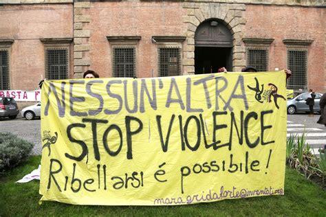 casa delle donne modena quot stop violence quot il presidio delle donne per barbara 1